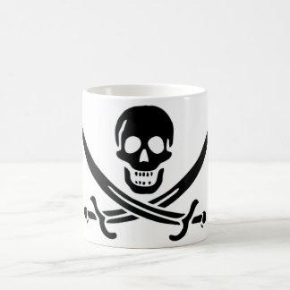 Mug Drapeau de pirate authentique de Jack Rackam