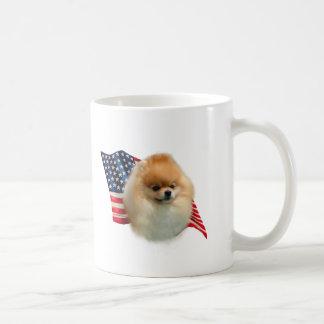 Mug Drapeau de Pomeranian