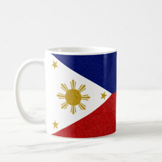 Mug drapeau de scintillement de Philippines de