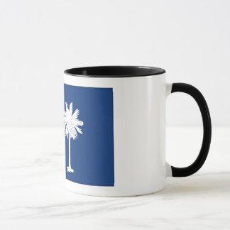 Mug Drapeau d'état de la Caroline du Sud