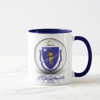 Mug Drapeau du Massachusetts
