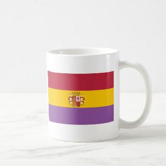 Mug Drapeau en second lieu espagnol de République