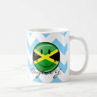 Mug Drapeau jamaïcain de sourire