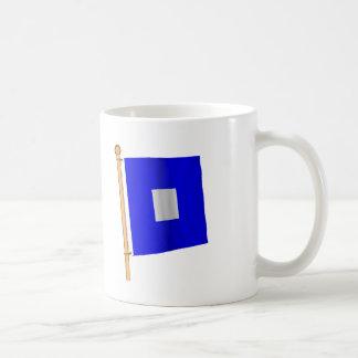Mug Drapeau nautique 'P
