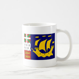 Mug Drapeau officieux local de St Pierre Miquelon