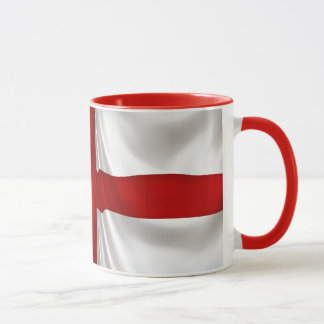Mug Drapeau patriotique croisé de St George de