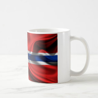 Mug Drapeau plein HD de la Norvège