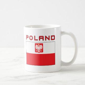 Mug Drapeau polonais de faucon avec la Pologne