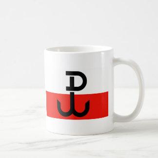Mug Drapeau polonais de résistance