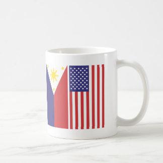 Mug Drapeaux de pi et des USA
