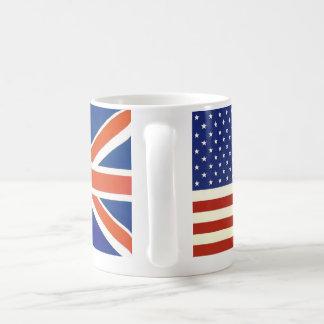 Mug Drapeaux des Etats-Unis les Anglais