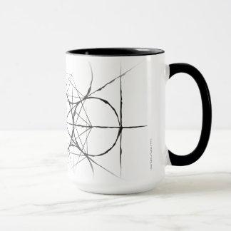 Mug Drinkware du cube de Metatron sacré artistique de