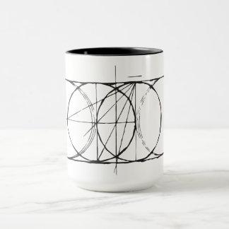 Mug Drinkware sacré artistique de Poissons de vessie