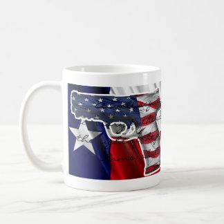 Mug Droit de soutenir des bras et de boire du café