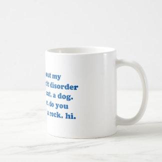 Mug Drôle AJOUTEZ la citation de TDAH - croquis de