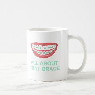 Mug Drôle tout au sujet du croisillon charriez
