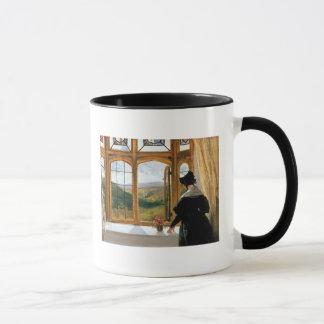 Mug Duchesse d'Abercorn regardant hors d'une fenêtre