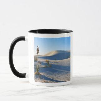 Mug Dunes transversales, yucca, lumière de début de la