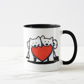 Mug Duo sincère de Samoyed