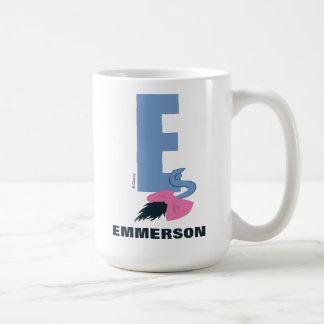 Mug E est pour Eeyore | ajoutent votre nom