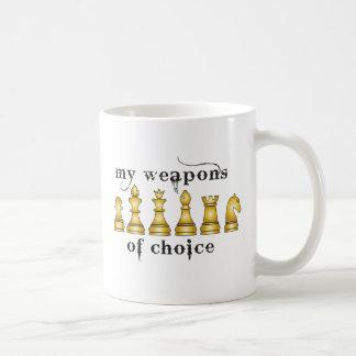 Mug échecs, mon arme de choix