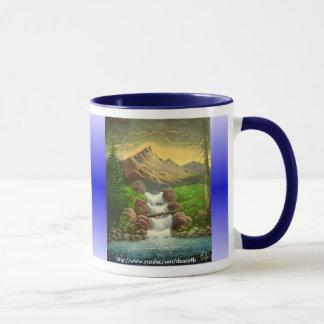 Mug Éclaboussure de flanc de montagne