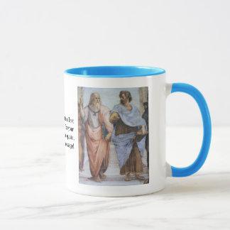Mug École d'Athènes (détail - Platon et Aristote)