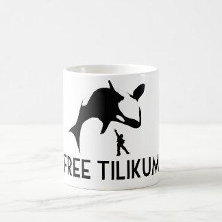Mug Économies libres de Tilikum l'épaulard d'orque