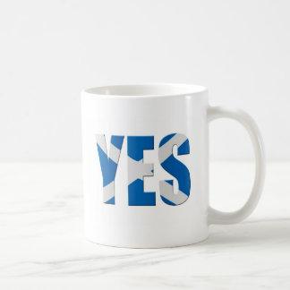 Mug Écossais oui