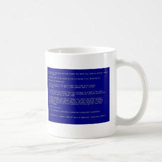 Mug Écran bleu de la mort