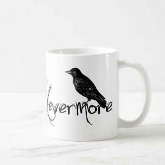 Mug Edgar Allen Poe Raven attaquent plus jamais