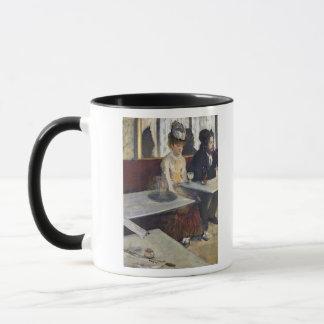 Mug Edgar Degas | dans un café, ou l'absinthe