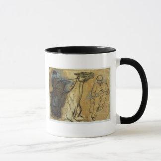 Mug Edgar Degas | deux études des cavaliers