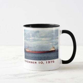 Mug Edmund Fitzgerald avec des noms d'équipage