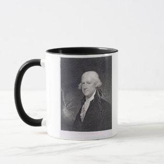 Mug Edouard Shippen (1729-1806) gravé par le puits
