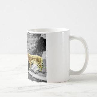 Mug Effet de couleur de deux tigres