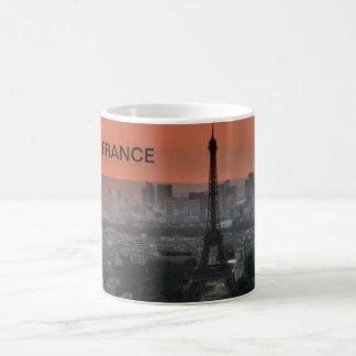 Mug effiloche Tour Eiffel à Paris, la France