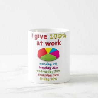Mug effort 100% au travail