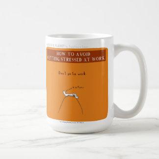 """Mug Effort de planète de HP5066 """"Harold"""" """"au travail """""""
