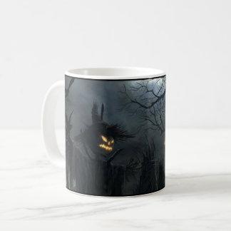 Mug Effrayant éffrayant d'épouvantail de Halloween