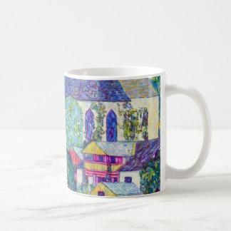Mug Église de St Wolfgang par Gustav Klimt, art