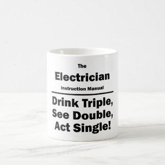Mug électricien