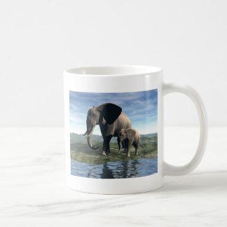 Mug Éléphant et bébé