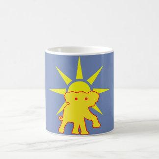 Mug Éléphant et Sun