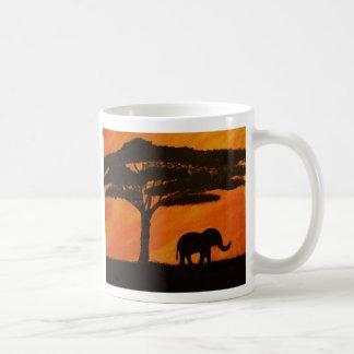 Mug Éléphants