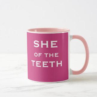 Mug Elle du nom femelle drôle de plaisanterie de