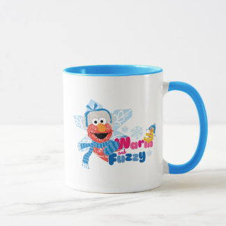 Mug Elmo chaud et brouillé