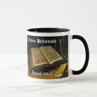 Mug Éloge Jéhovah - la bible Van Gogh