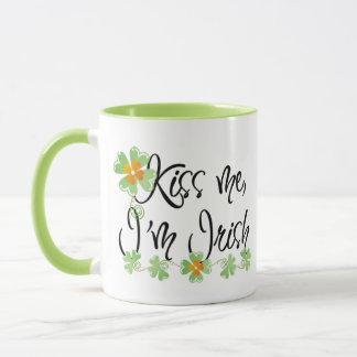 Mug Embrassez-moi que je suis irlandais