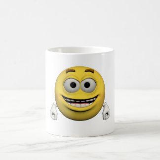 Mug Émoticône heureuse